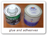 glue and adhesives